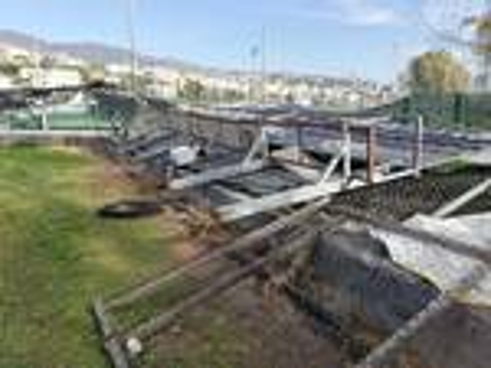 riviera24 - Divelto il tabellone segnapunti del diamante di Pian di Poma