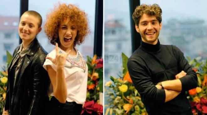 riviera24 - Matteo Faustini e il duo Gabriella Martinelli e Lula