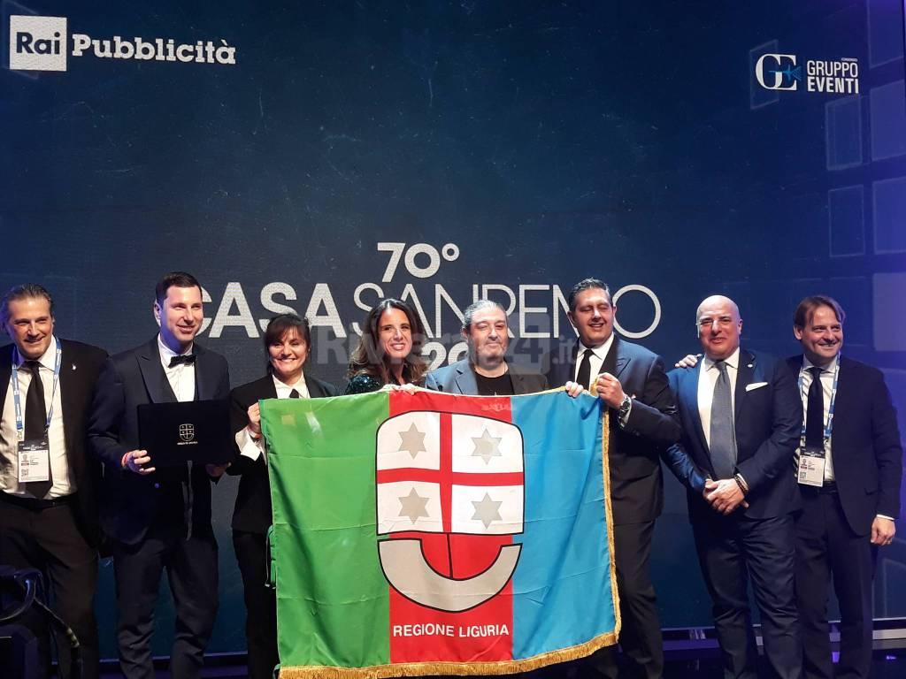 riviera24 -  Toti premia Massimo Morini