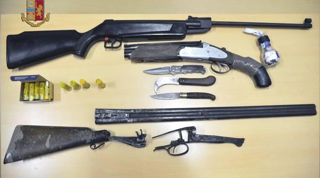 arresto armi polizia