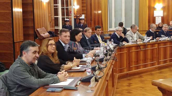 Consiglio comunale Sanremo maggioranza e opposizione