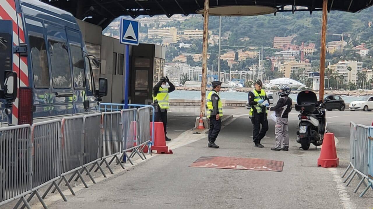 Controlli frontiera Ventimiglia