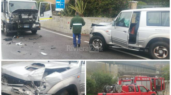 Incidente Aregai, jeep contro camion