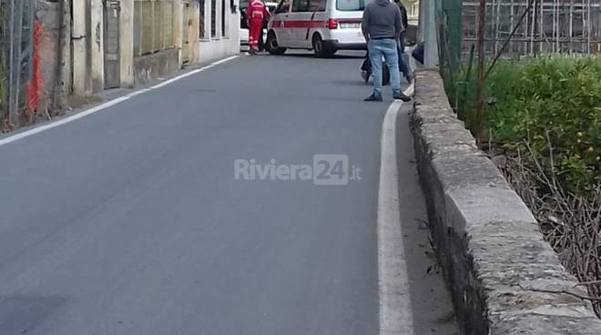 Incidente bordighera via Pasteur