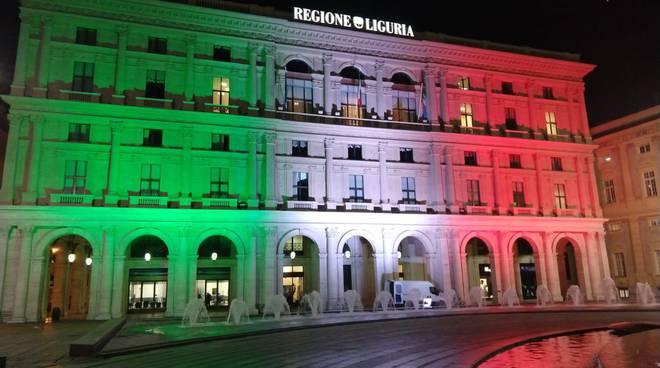Palazzo di Regione Liguria Tricolore