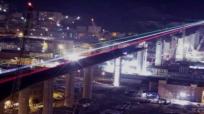ponte luce tricolore salini impregilo