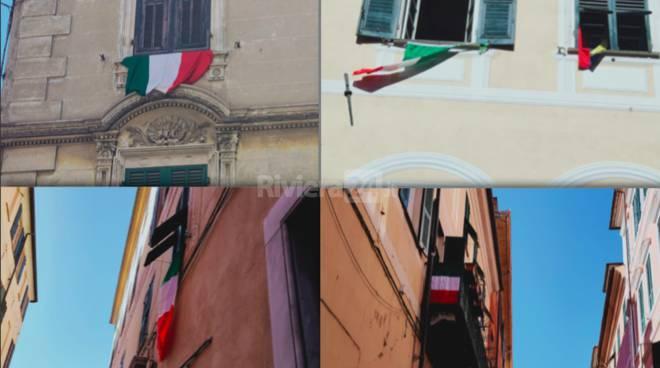Riviera24- bandiere italia imperia