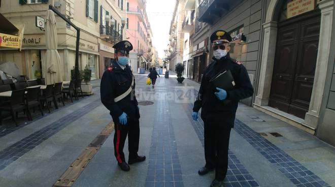 riviera24 - carabinieri sanremo corinavirus
