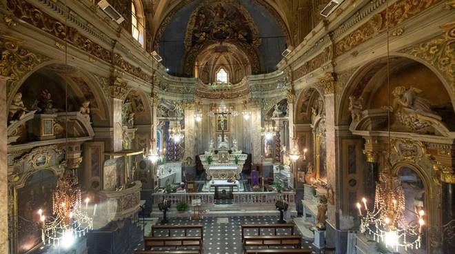 riviera24 - Chiesa di San Lorenzo Vallebona