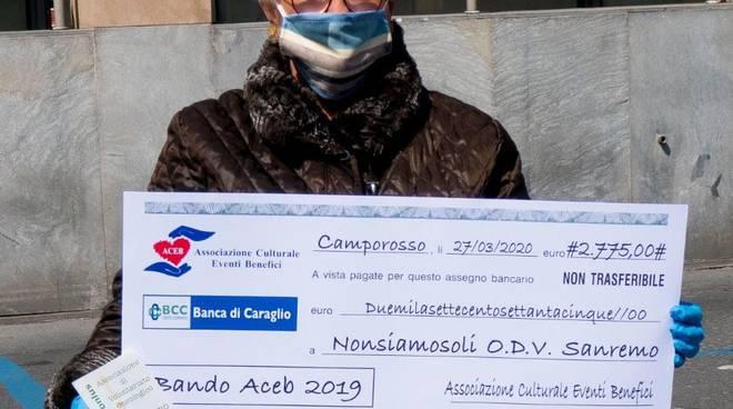 riviera24 -  consegnati assegni ai vincitori bando ACEB 2019