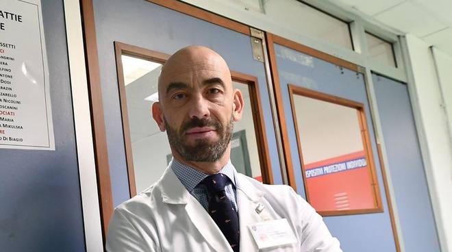 Bassetti:non schifate chi combatte virus - Liguria