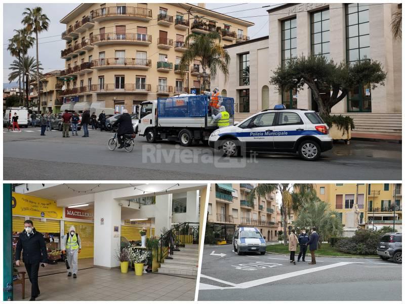 Sanificazione strade Bordighera