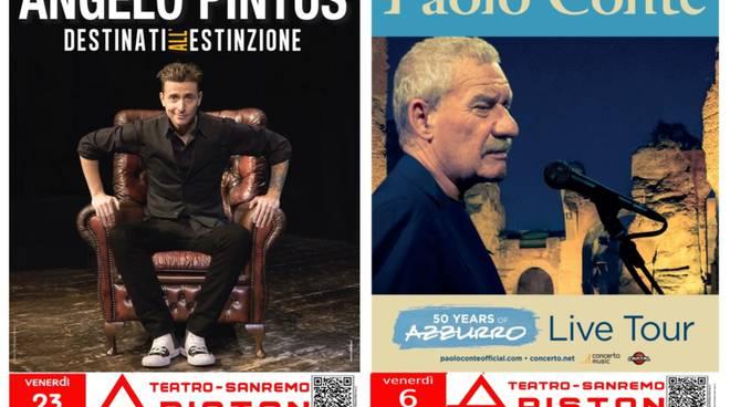 Angelo Pintus e Paolo Conte