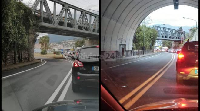 coda frontiera Ventimiglia