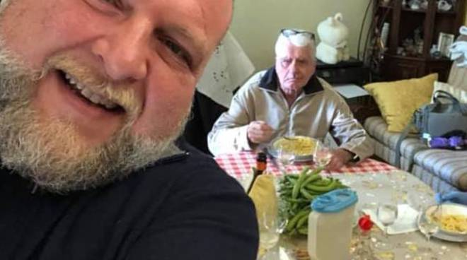 massimiliano grisolia e padre