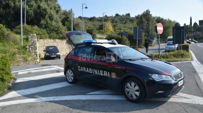 Pattuglione carabinieri Bordighera