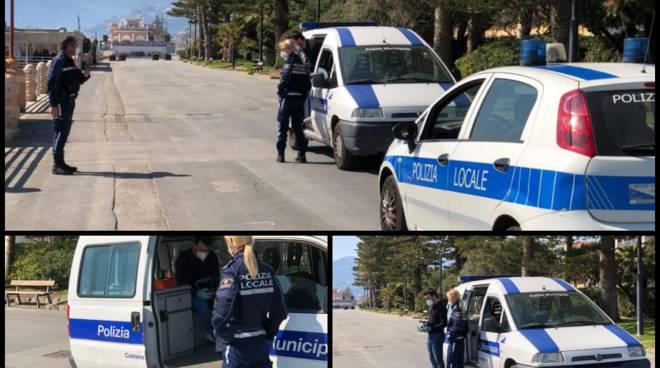 polizia locale drone bordighera