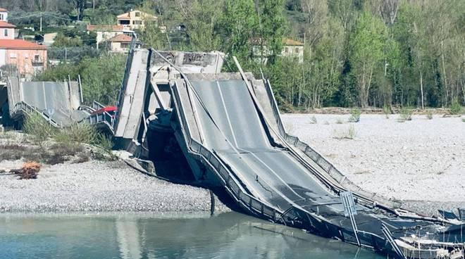ponte crollato spezia