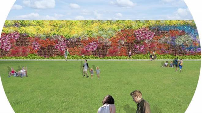 Progetto riqualificazione del parco urbano Imperia