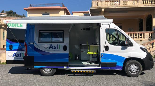 riviera24- ambulatorio mobile asl1