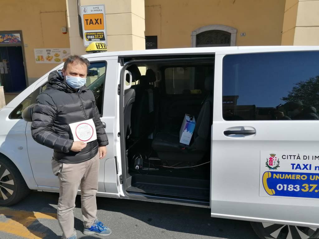 riviera24 - CNA Imperia, taxisti  taxi cna coronavirus