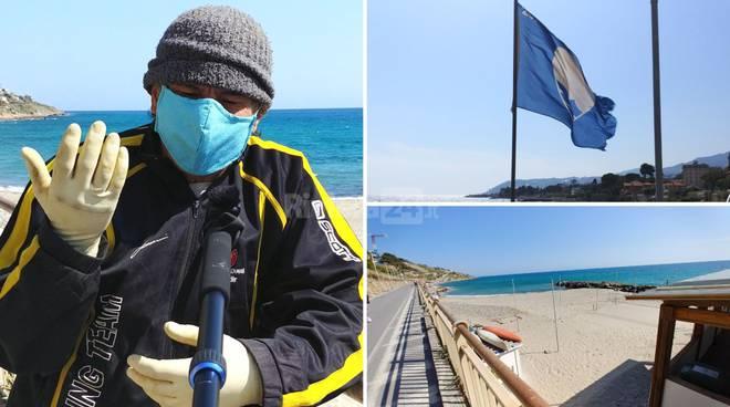 spiagge tre ponti bandiera blu