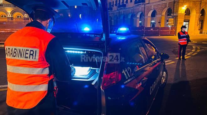 Stretta sui controlli da parte dei carabinieri