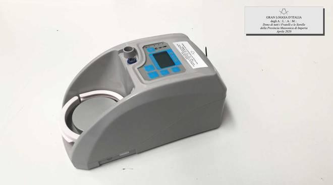 ventilatore polmonare massoni