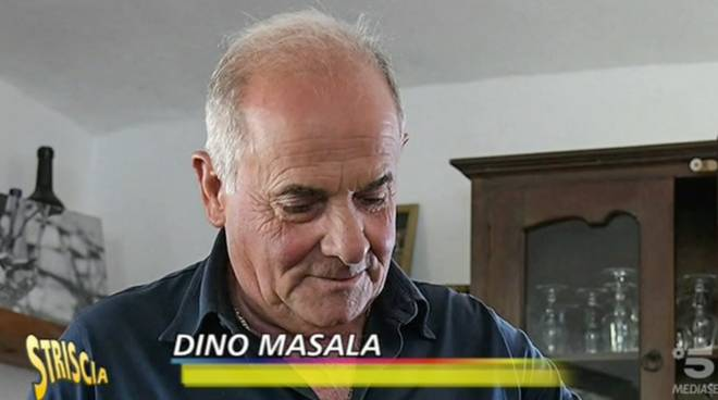 dino masala striscia la notizia