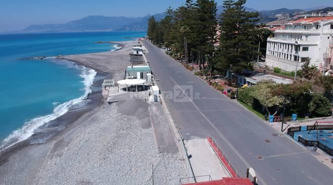drone spiagge bordighera rotonda sant'ampelio