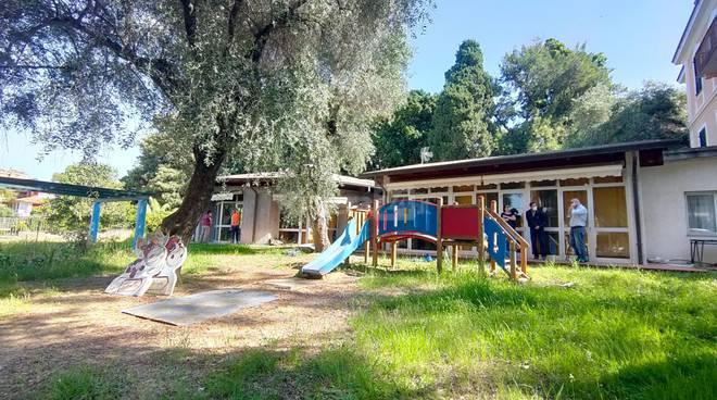 nuova scuola via Napoli bordighera