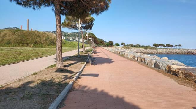 manutenzione parco urbano imperia