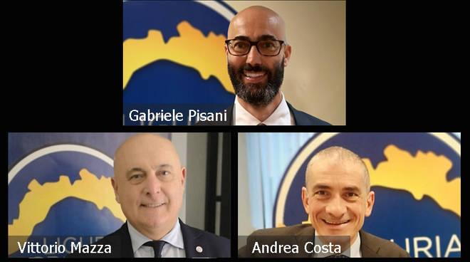 riviera24 - Andrea Costa, Vittorio Mazza e Gabriele Pisani