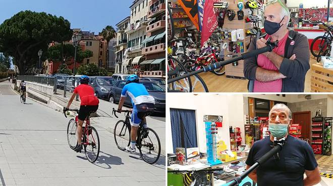 riviera24 - collage negozi bicicletta
