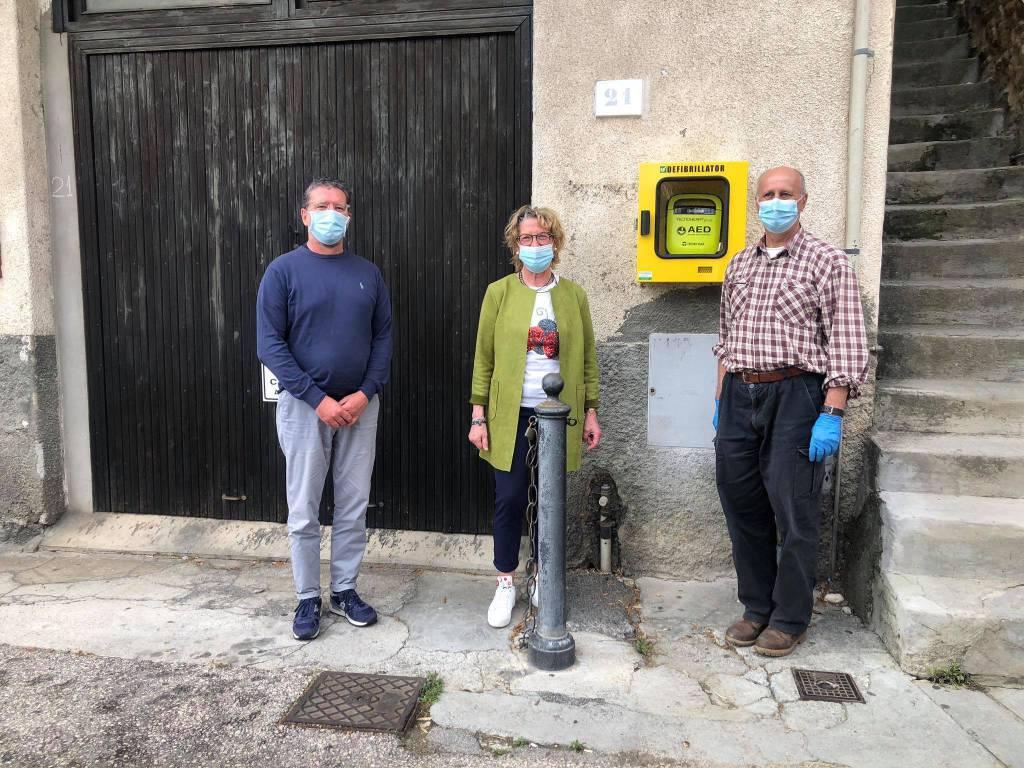 riviera24 - defibrillatore Vallebona