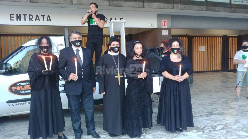 Riviera24- funerale imprese italiane sanremo