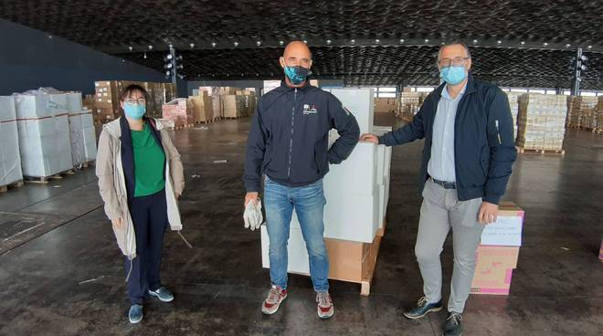 riviera24 - Viale consegna mascherine