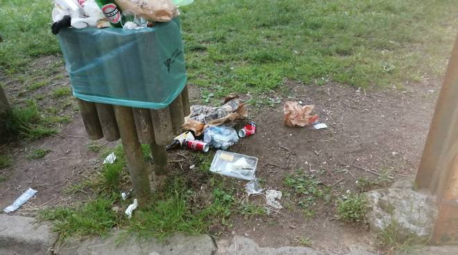 San Romolo rifiuti