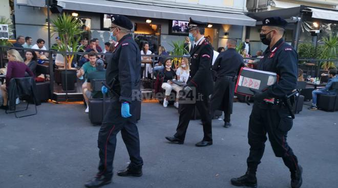 Sanremo blitz interforze piazza Bresca