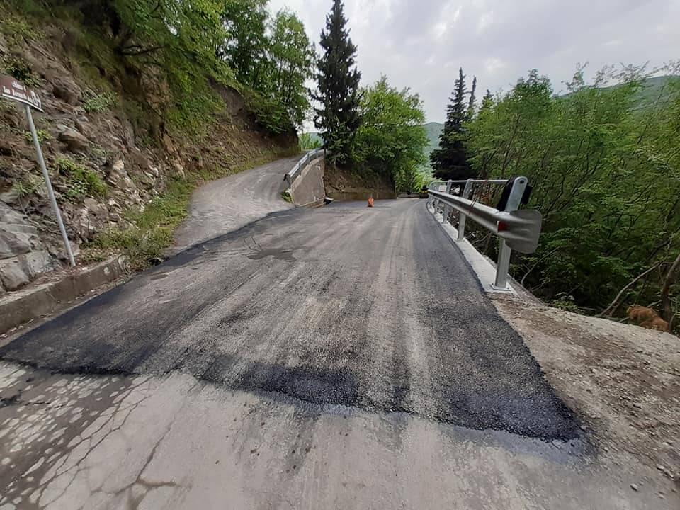 Valle Impero, completato la strada Poggialto-Conio
