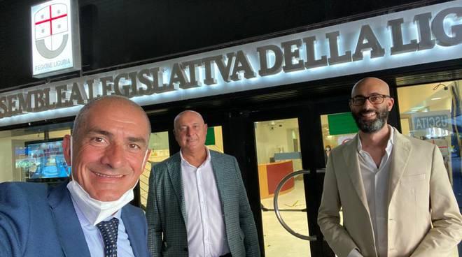 Gabriele Pisani, Andrea Costa e Vittorio Mazza