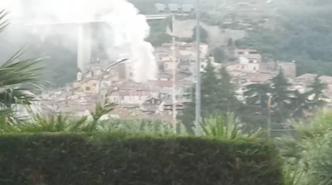 incendio Taggia