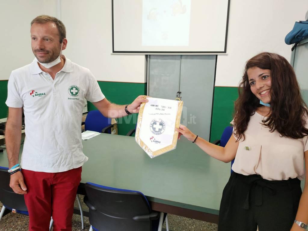 L'Ippocedro dona 600 euro alla Croce Bianca di Imperia
