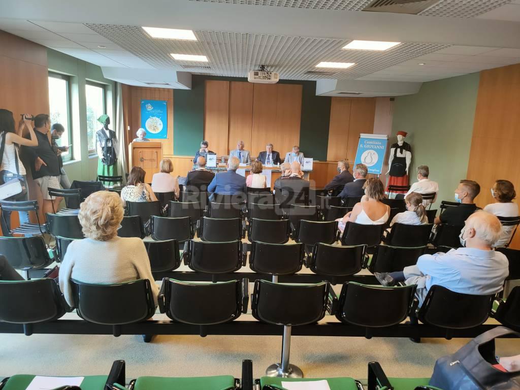 Presentazione libro sui 40 anni del Comitato San Giovanni e Tradizioni onegliesi