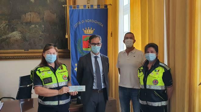 Protezione civile di Bordighera e Vittorio Ingenito