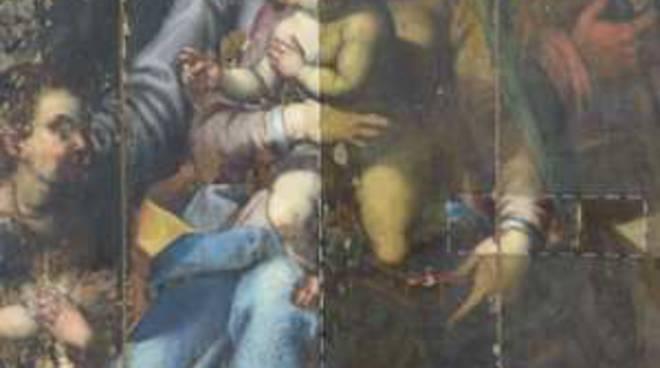 restauro pala altare molini