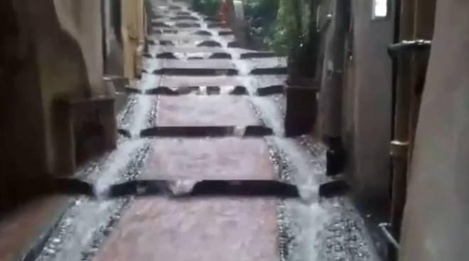 riviera24 - carruggio caruggio pioggia