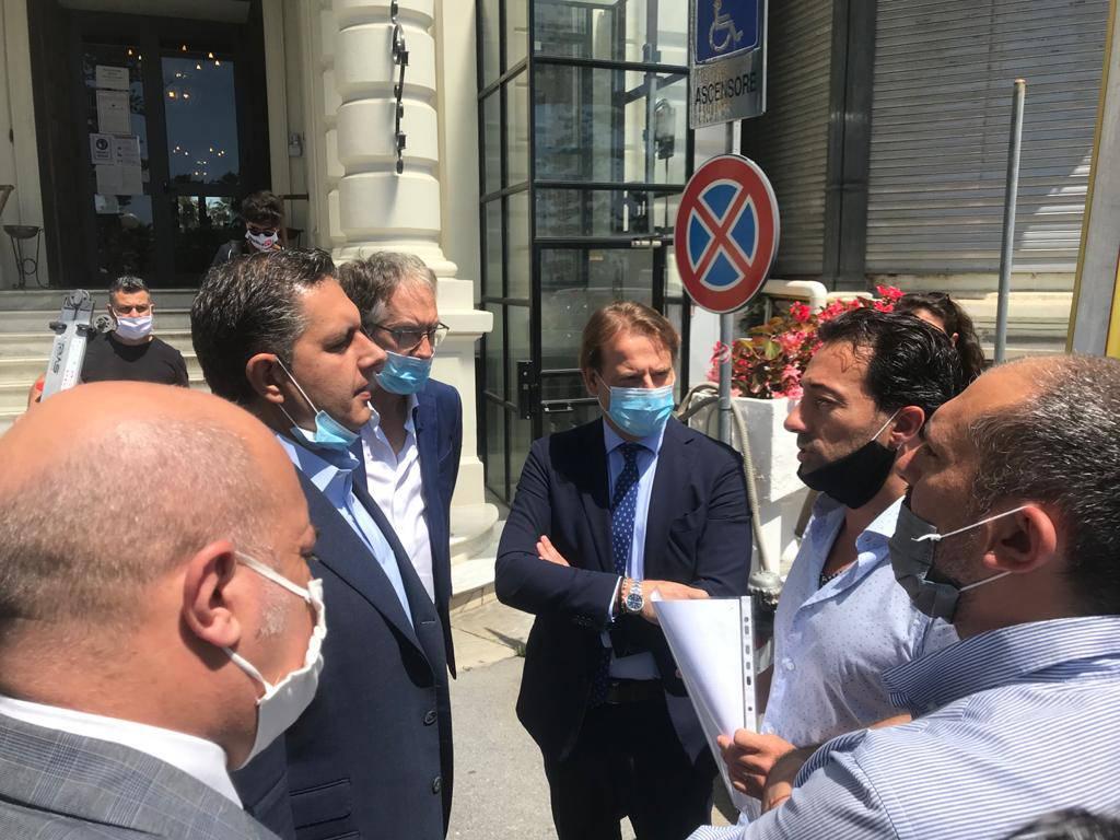 riviera24 - Graglia e Pinto di MPI incontrano Toti