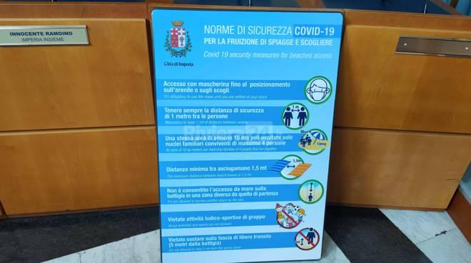riviera24 - Norme di sicurezza per spiagge a Imperia