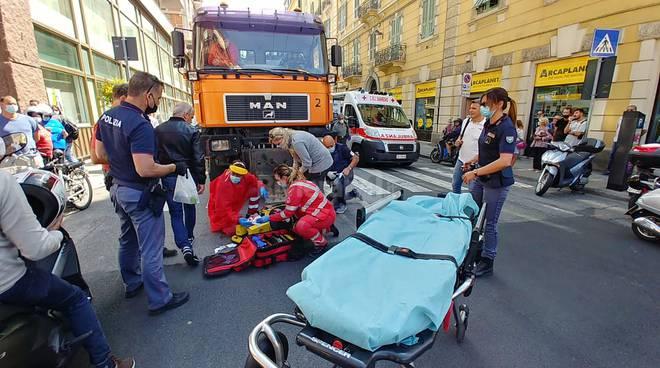 riviera24 - pedone investito soccorsi 118